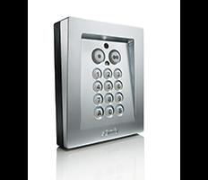 Elektrozamek w drzwiach przejściowych z bezprzewodową klawiaturą kodową